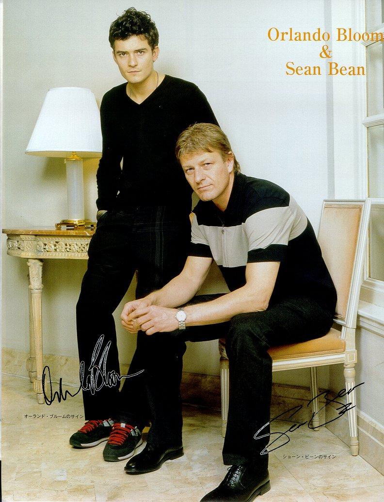 Фото 52751 » Орландо Блум ( Леголас) и Шон Бин ( Боромир ... Orlando Bloom